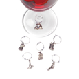 True Fabrications Golf Wine Charms