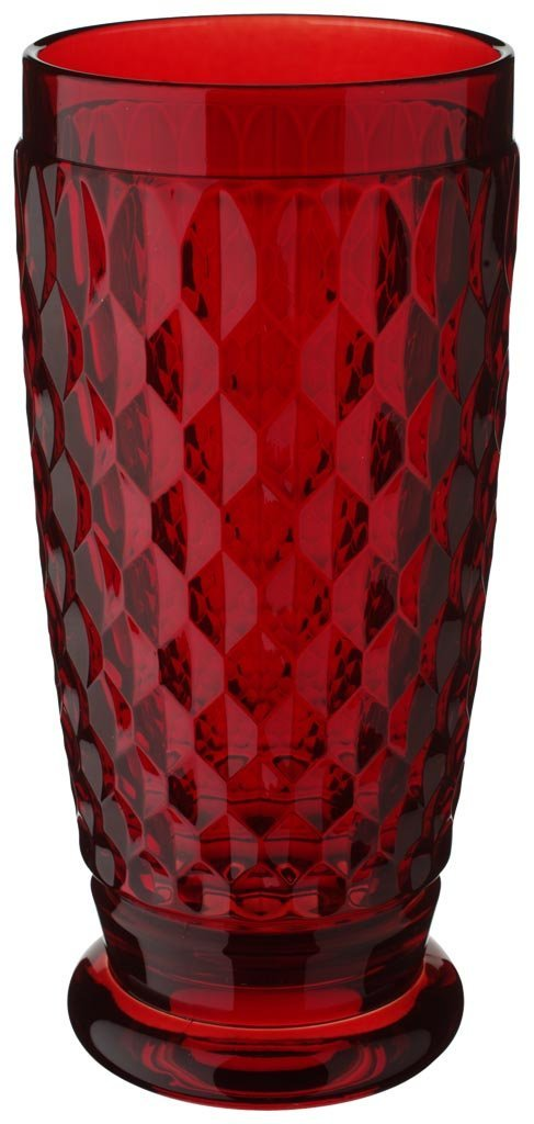 Villeroy & Boch Boston Red Crystal Highball Glass