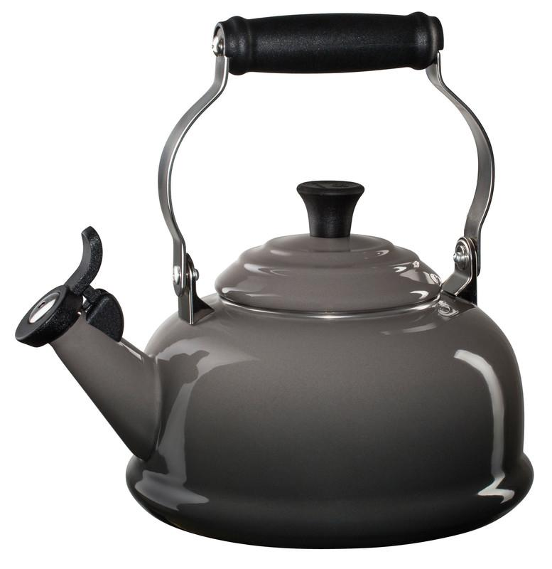 Le Creuset 1.7 Quart Whistling Tea Kettle - Oyster