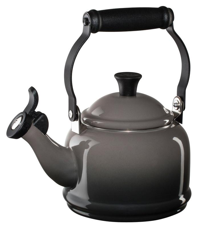 Le Creuset 1.25 Quart Demi Tea Kettle - Oyster