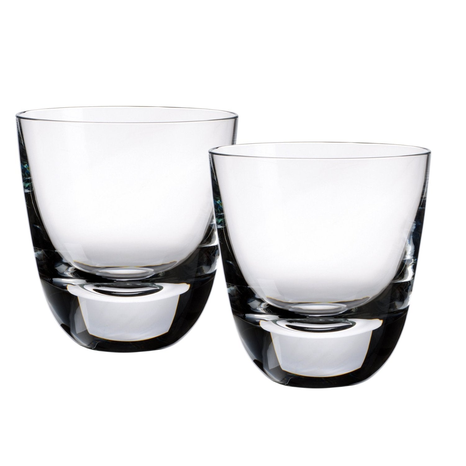 Villeroy & Boch American Bar Straight Bourbon 3-3/4 Inch Old Fashioned Tumbler, Set of 2