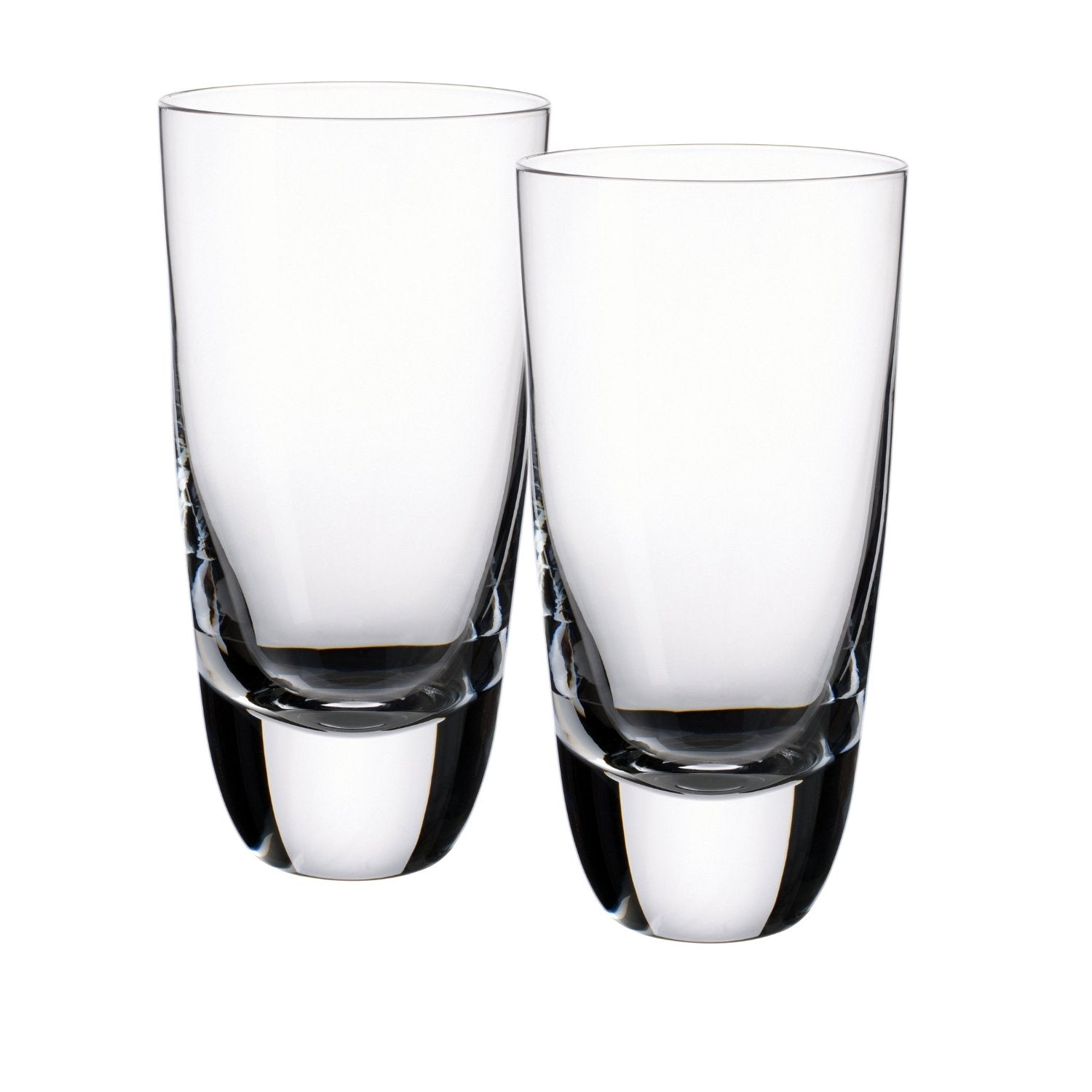 Villeroy & Boch American Bar Straight Bourbon 6 Inch Hiball Tumbler, Set of 2
