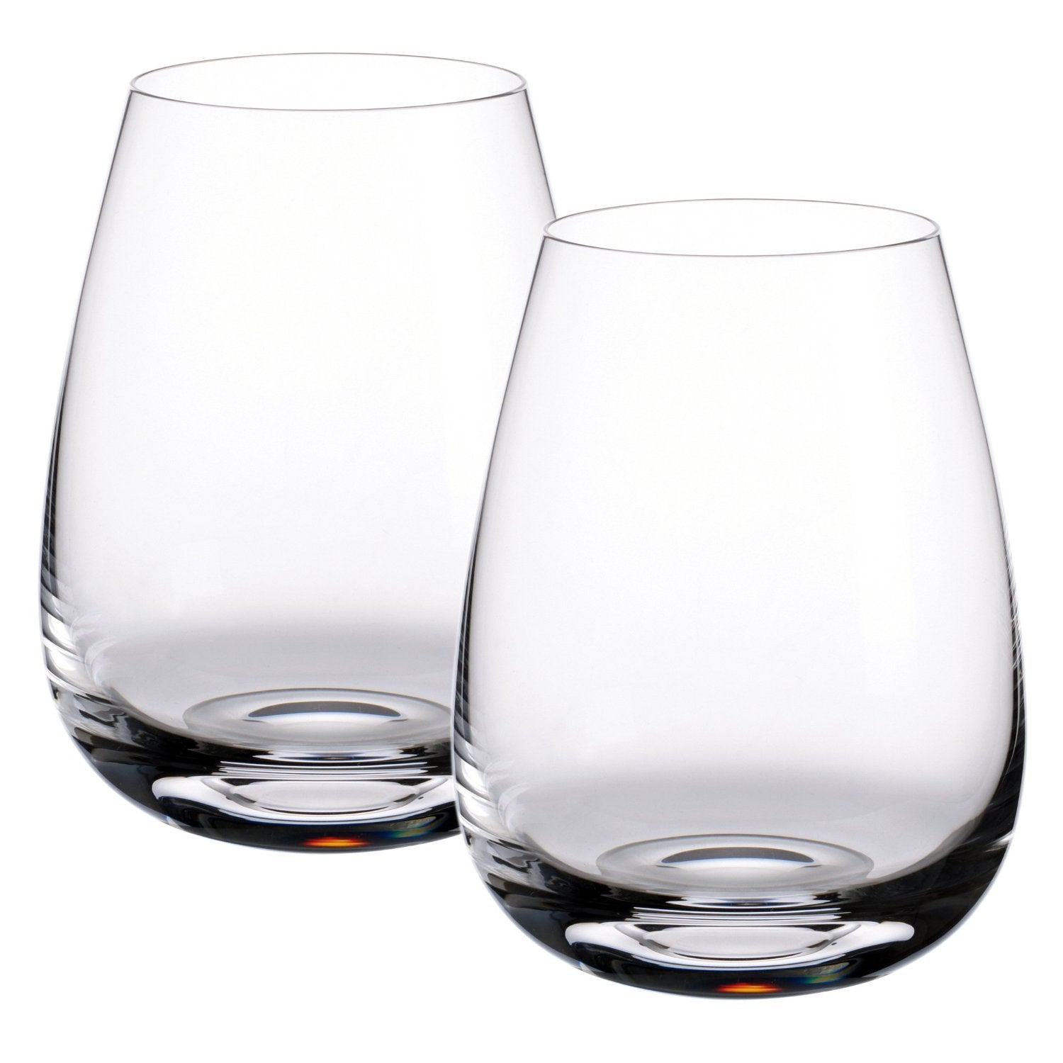 Villeroy & Boch Scotch Whiskey Single Malt 4-1/2-Inch Highlands Whisky Tumbler, Set of 2