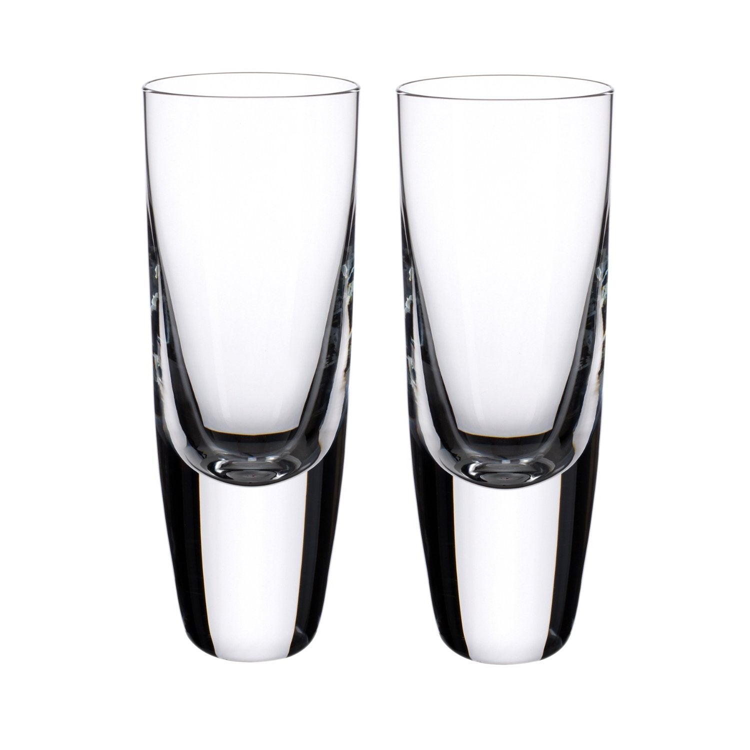Villeroy & Boch American Bar Straight Bourbon 5-1/2 Inch Shot Tumbler, Set of 2