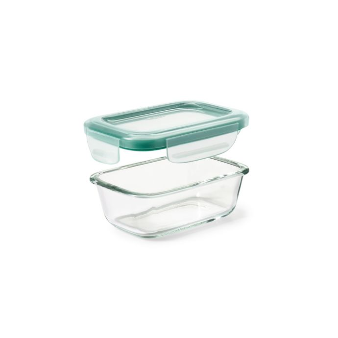OXO Good Grips 1.6-Cup Smart Seal Rectangle Glass Container