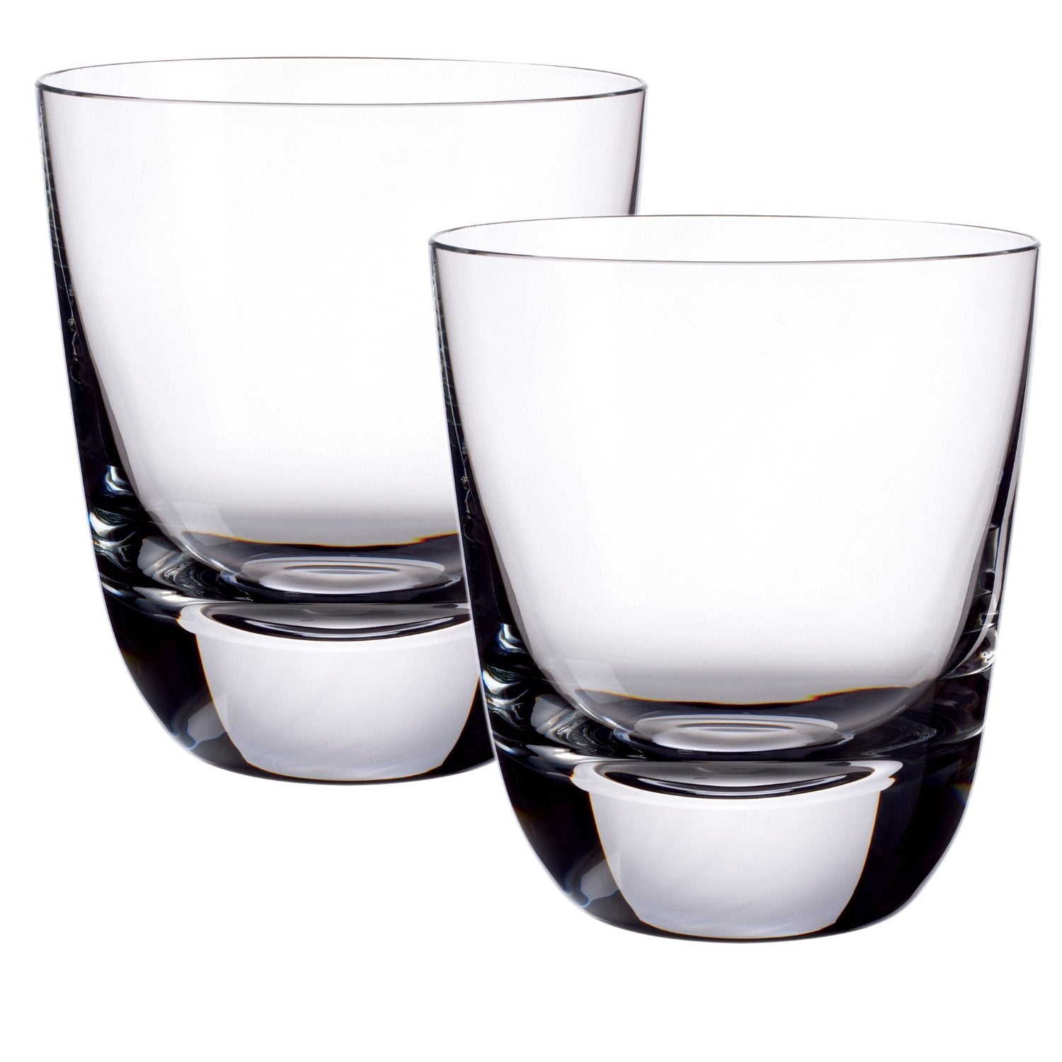 Villeroy & Boch American Bar Straight Bourbon 4-1/2 Inch Double Old Fashioned Tumbler, Set of 2