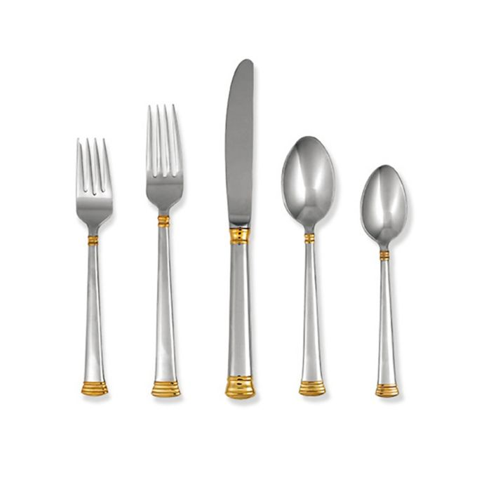 Lenox Eternal Gold 5-Piece Flatware Place Setting