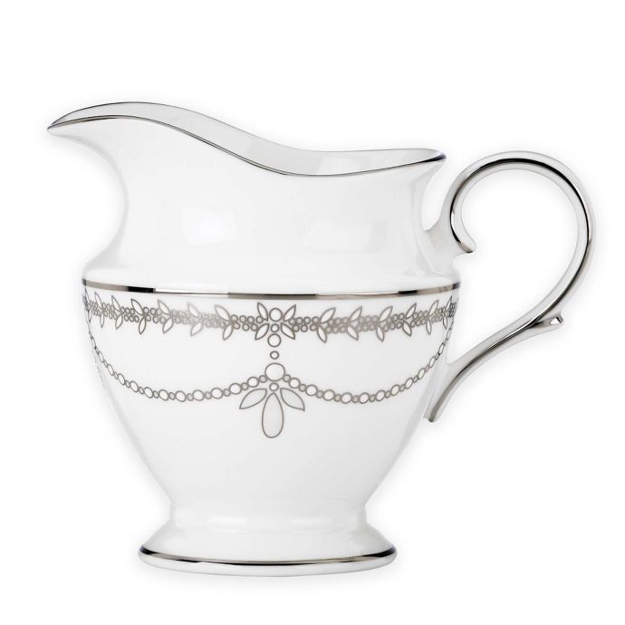 Marchesa by Lenox Empire Pearl Creamer