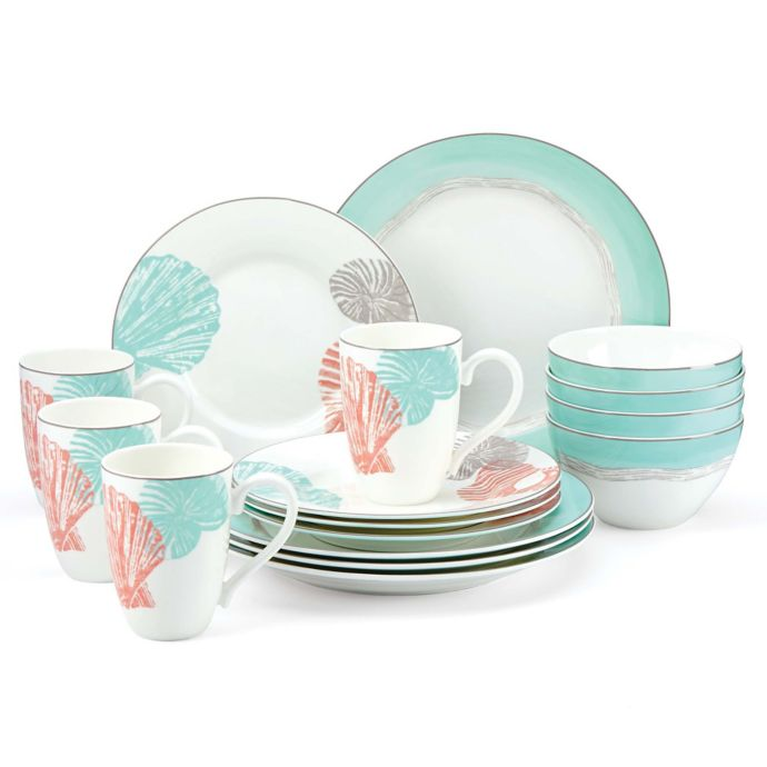 Lenox Sandy Point 16-Piece Dinnerware Set