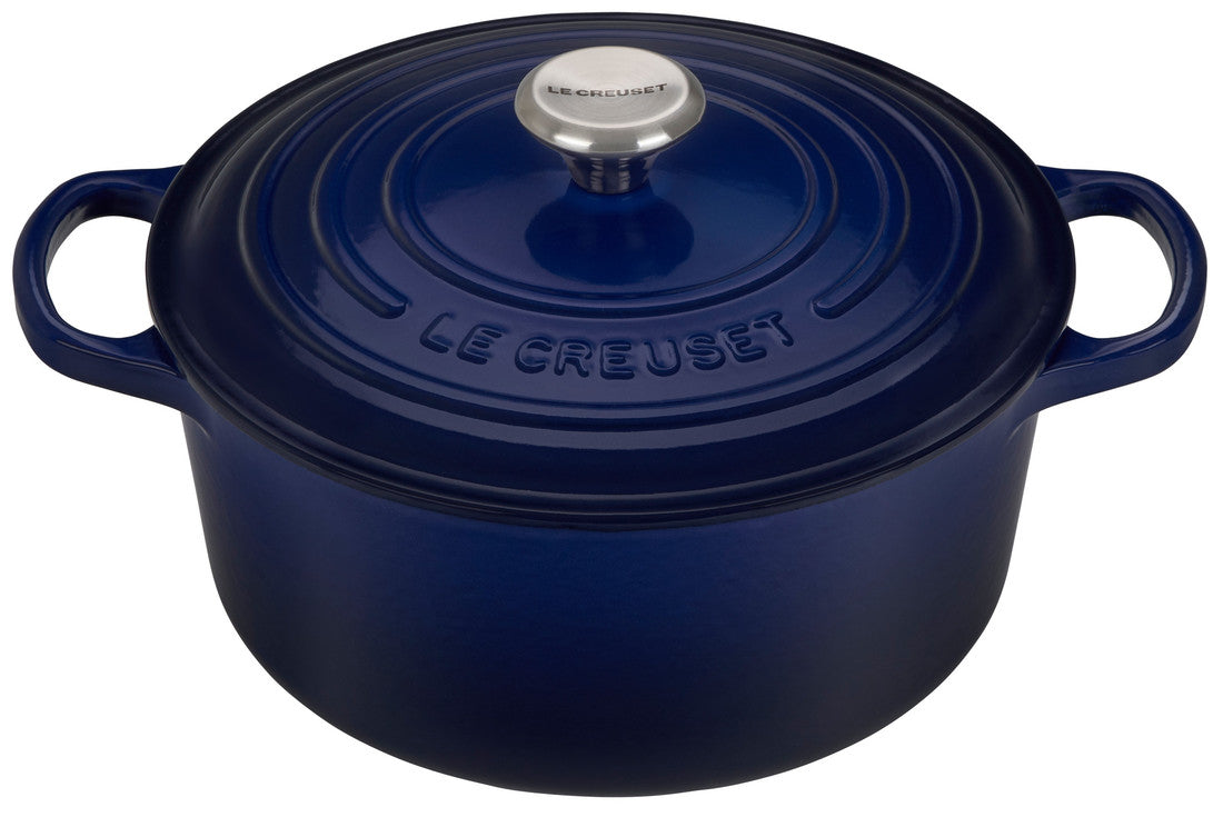 Le Creuset Signature 7.25 Quart Round Enameled Cast Iron Dutch Oven