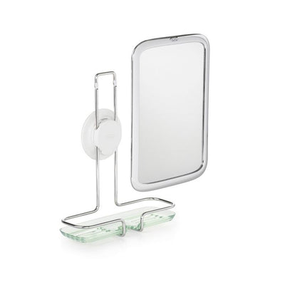 OXO Good Grips Fogless Adhesive Mount Mirror in Chrome