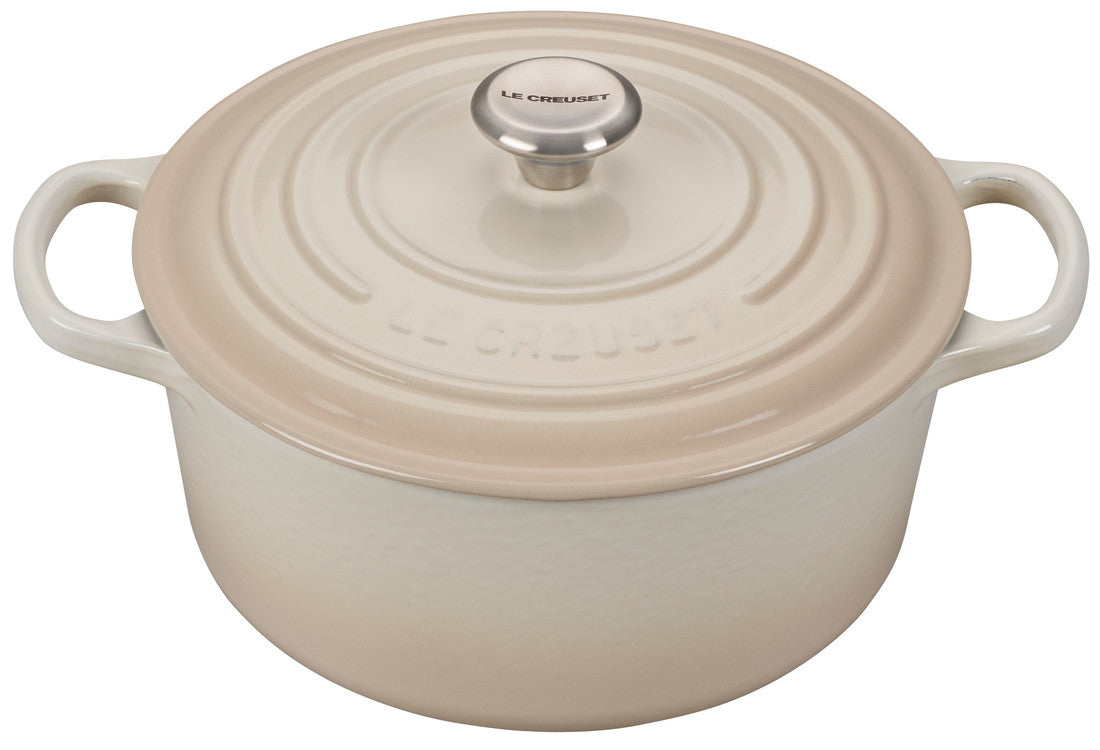 Le Creuset Signature 5.5 Quart Round Enameled Cast Iron Dutch Oven