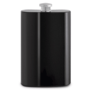 Epic Double Wall Translucent Flask- Black