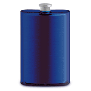 Epic Double Wall Translucent Flask- Blue