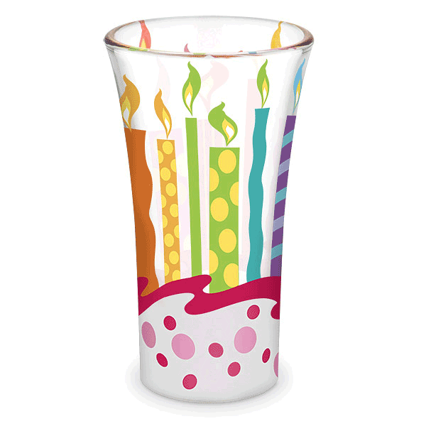 Birthday Painted Shot Glass