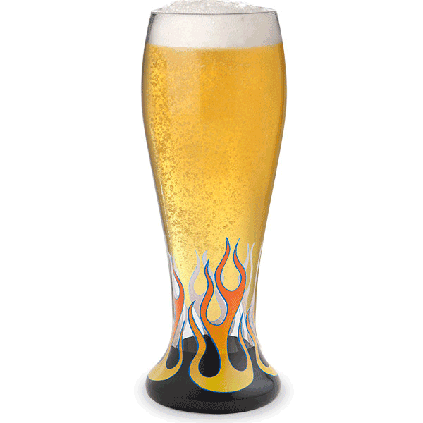 Rock On Pilsner Glass