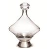 Orbital Wine Decanter w / Silver Plated Base