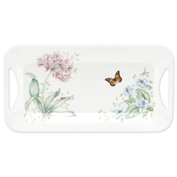 Lenox Butterfly Meadow Melamine Hors D'oeuvres Tray