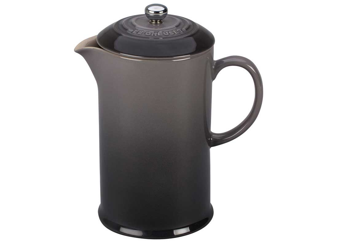 Le Creuset 27 Ounce Stoneware French Press - Oyster