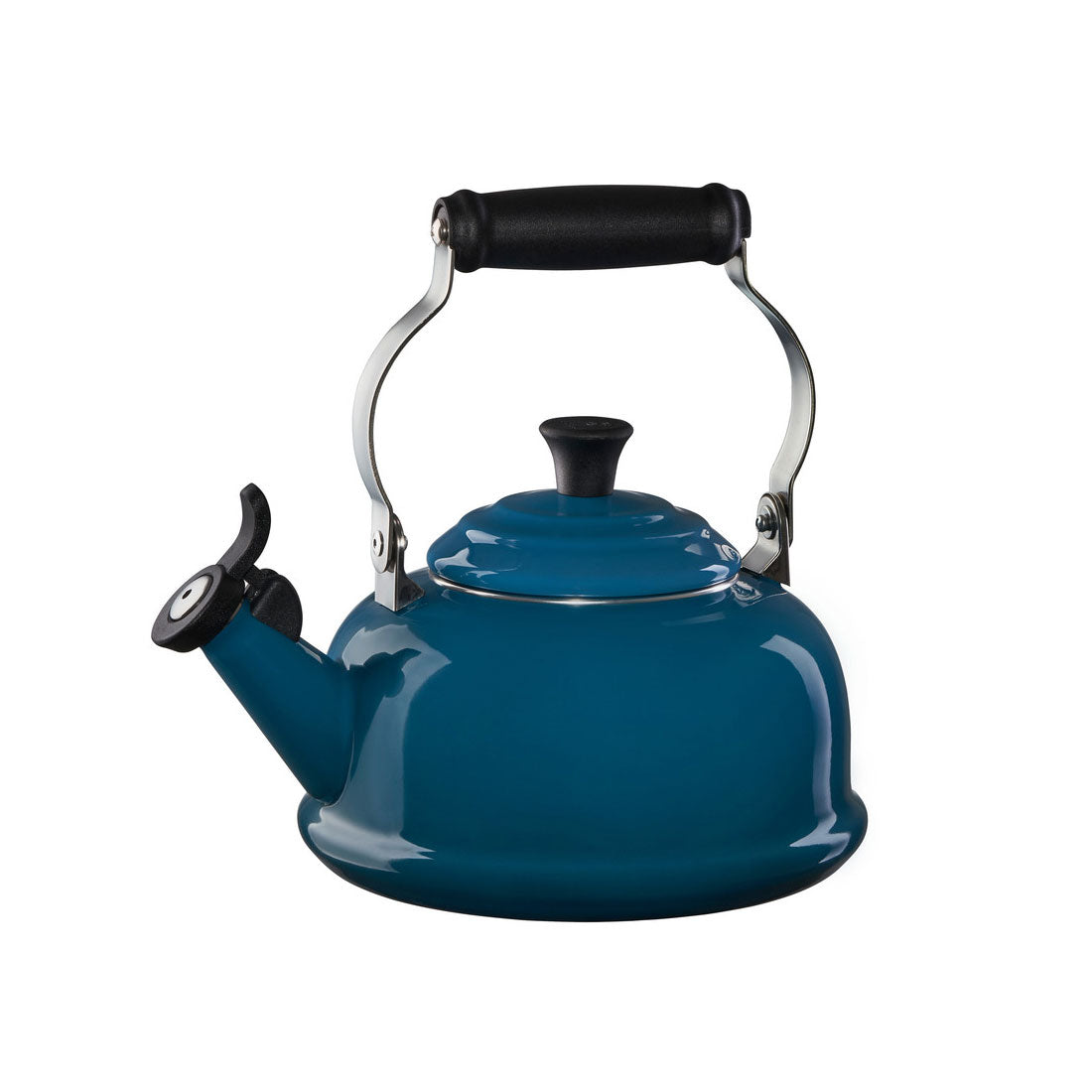 Le Creuset 1.7 Quart Whistling Tea Kettle - Deep Teal