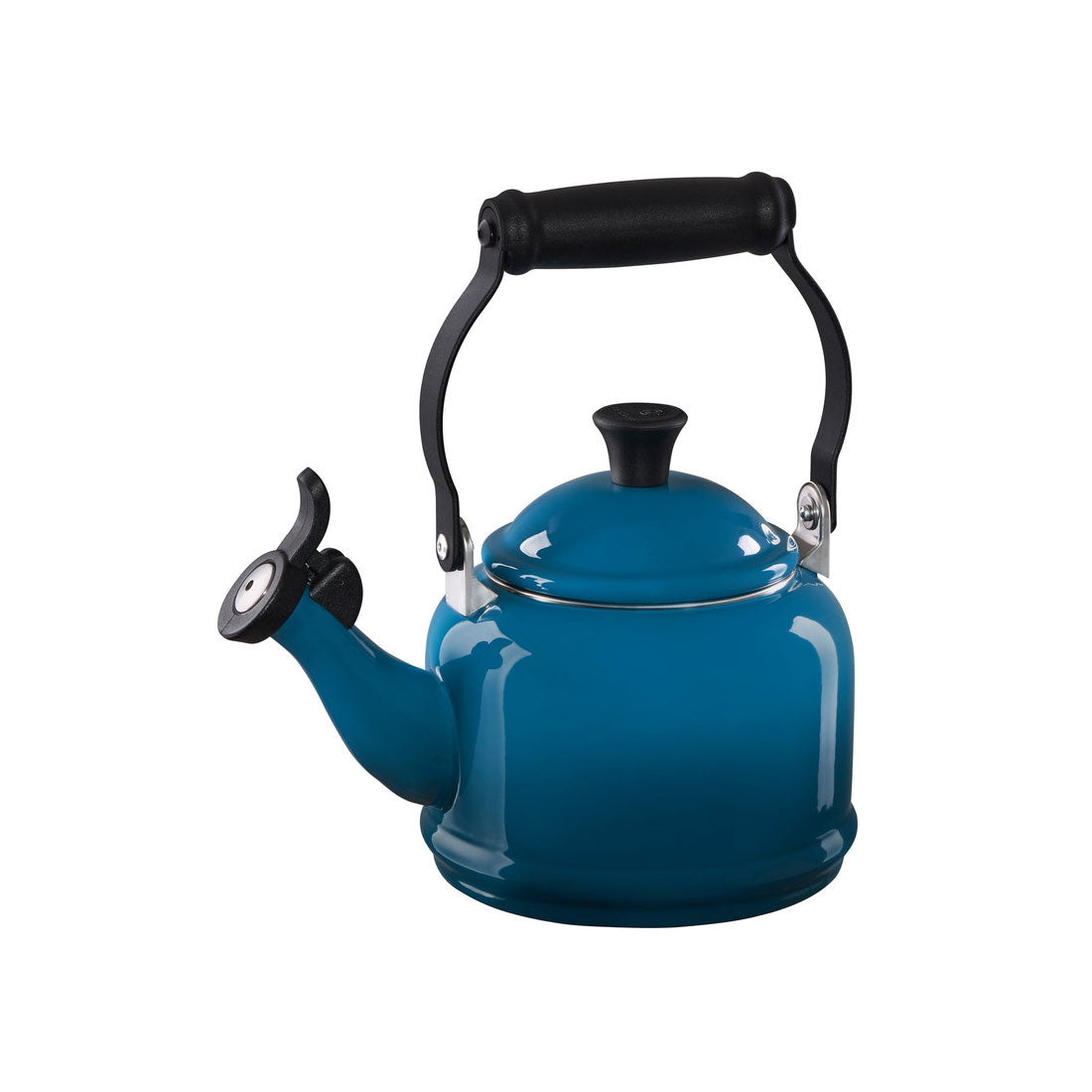 Le Creuset 1.25 Quart Demi Tea Kettle - Deep Teal