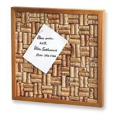 Wine Cork Bulletin Board Kit