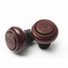 Wine Vacuum Saver Stoppers - Burgundy