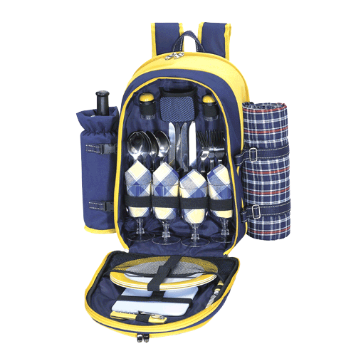 Sutherland River Canyon Picnic Backpack for 4
