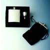 Captive-Top Pocket Flask Gift Set - 6 oz