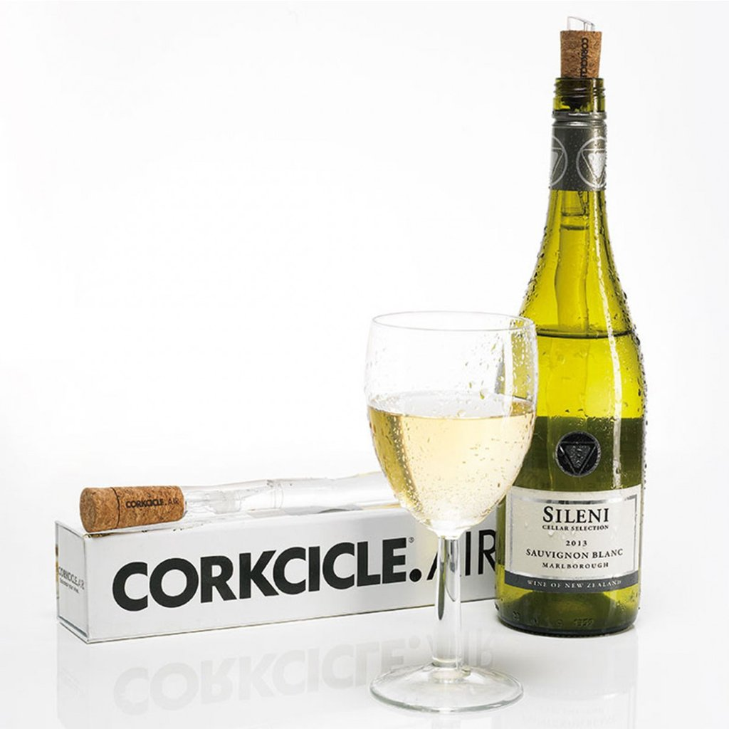 Corkcicle Air 4-in-1 Chiller, Aerator, Pourer, Stopper
