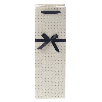 Dainty Details Cream Wine Gift Bag - Set of 10