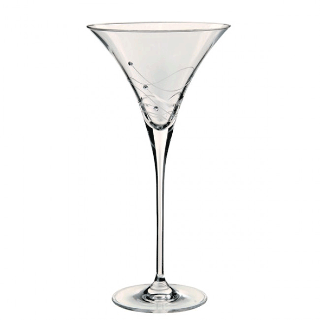 Dartington Glitz Martini Glass (Set of 2)