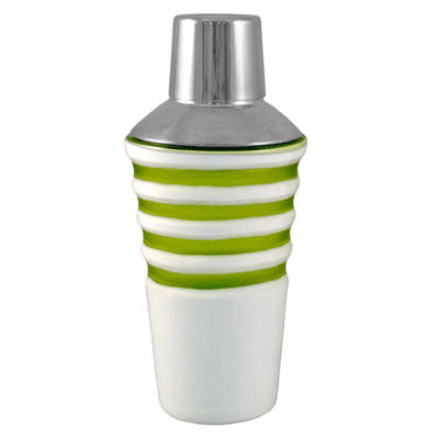 Green Horizon Cocktail Shaker