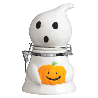 Boston Warehouse Happy Hauntings Hinged Snack Jar