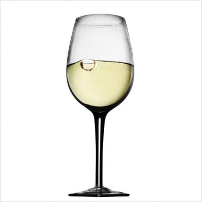 Metrokane Houdini Chardonnay Wine Glasses (Set of 4)