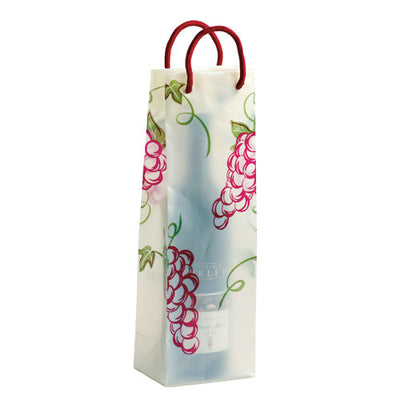 Sheer Juicy Grapes Wine Gift Bag - Set of 10