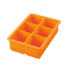 Tovolo King Cube Ice Tray-Orange Peel