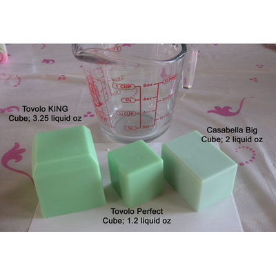 Tovolo King Cube Ice Tray- Fushia