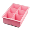 Tovolo King Cube Ice Tray- Pink
