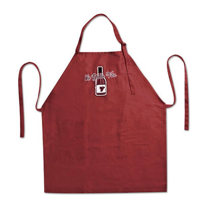 La Dolce Vita Red Wine Apron