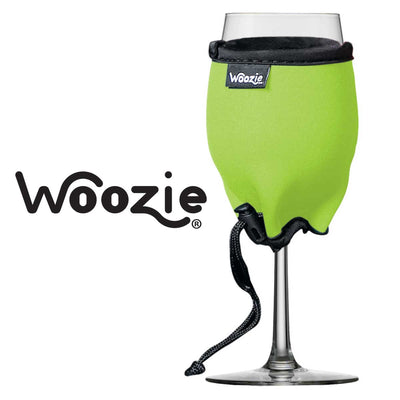 The Wine Woozie - Lime Green
