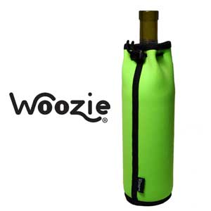 The Wine Bottle Woozie - Lime Green