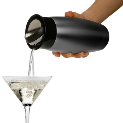 Metrokane Houdini Flip-Top Cocktail Shaker