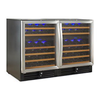 N'FINITY PRO 92 Dual Zone Wine Cellar (Stainless Steel Door)