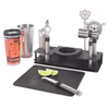 Oggi 10 Piece Bar Set with Rectangular Stand