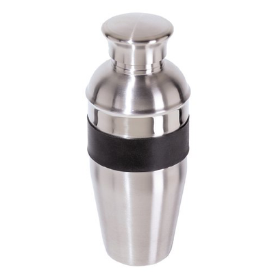 Oggi S/S Cocktail Shaker w/ Soft Rubber Grip