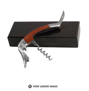 Pampered Grape Redwood Chateau Waiter Corkscrew