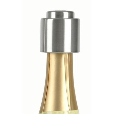 Stainless Steel Push Button Champagne Stopper