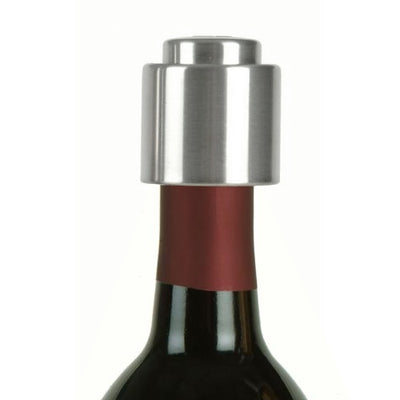 Stainless Steel Push Button Wine Bottle Stopper
