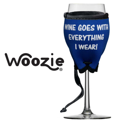 Woozie, Wine Goes with Everything I Wear!